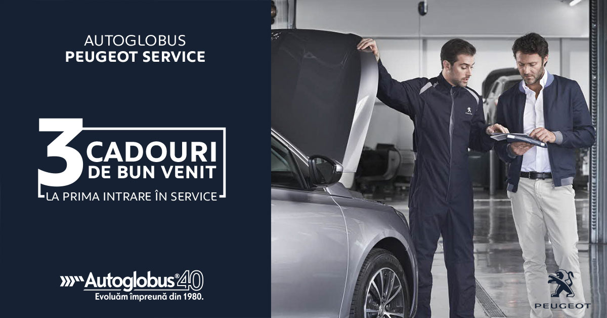 Cadouri de bun venit la Peugeot Service